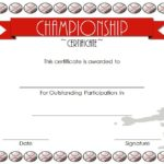 Certificate of Championship: 10+ Great Template Awards