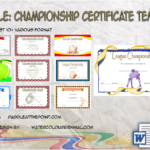 Championship Certificate Template By Paddle