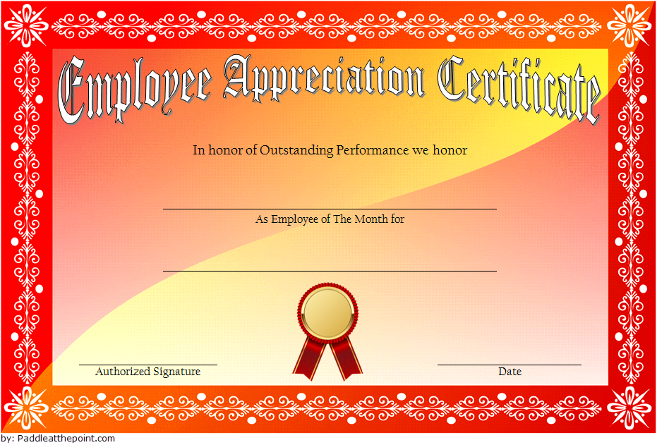 employee appreciation certificate template, employee recognition certificate template, employee appreciation certificate word template, certificate of appreciation for employees, employee of the month certificate template, best employee certificate template, long service award certificate