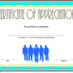 Employee Appreciation Certificate Template 4