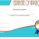 Employee Appreciation Certificate Template 5
