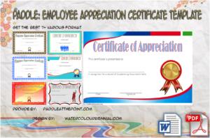 Employee Appreciation Certificate Template: 7+ Best Designs