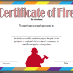 Fire Extinguisher Certificate Template 4