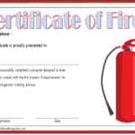 Fire Extinguisher Certificate Template 6