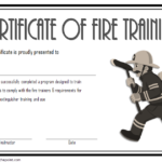 Fire Extinguisher Certificate Template 7