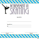 Ice Skating Certificate Template 1