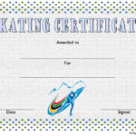 Ice Skating Certificate Template 10