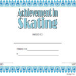 Ice Skating Certificate Template 3
