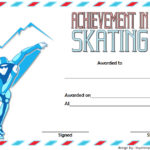 Ice Skating Certificate Template 4