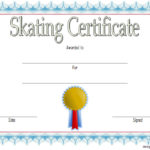 Ice Skating Certificate Template 6