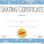 Ice Skating Certificate Template 7