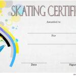 Ice Skating Certificate Template 8