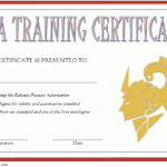 Robotics Certificate Template – 9+ Wild Design Ideas