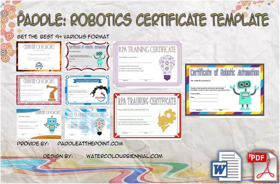 robotics certificate template, certificate in robotics, robotics technician certificate, science fair certificate templates for word, first robotics certificates, robotics certificate course chennai, science fair 1st place certificate