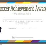 Soccer Achievement Certificate Template: 7+ Fresh Ideas Free