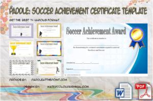 Soccer Achievement Certificate Template: 7+ Fresh Ideas Free