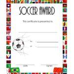 Soccer Award Certificate Template 5