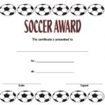 Soccer Award Certificate Template: 7+ General Accolades Free