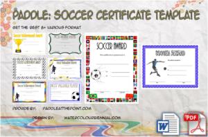 Soccer Certificate Template Free – 8+ Greatest Designs
