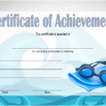 Swimming Achievement Certificate Template 3