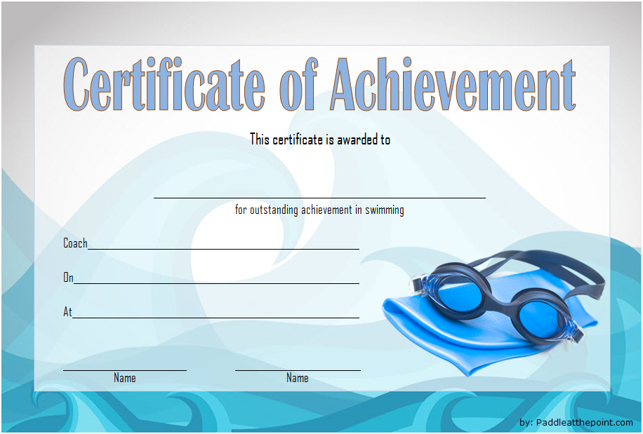 swimming achievement certificate free printable, swimming achievement certificate template, editable swimming certificate template, swimming achievement certificates to print, certificate of achievement swimming