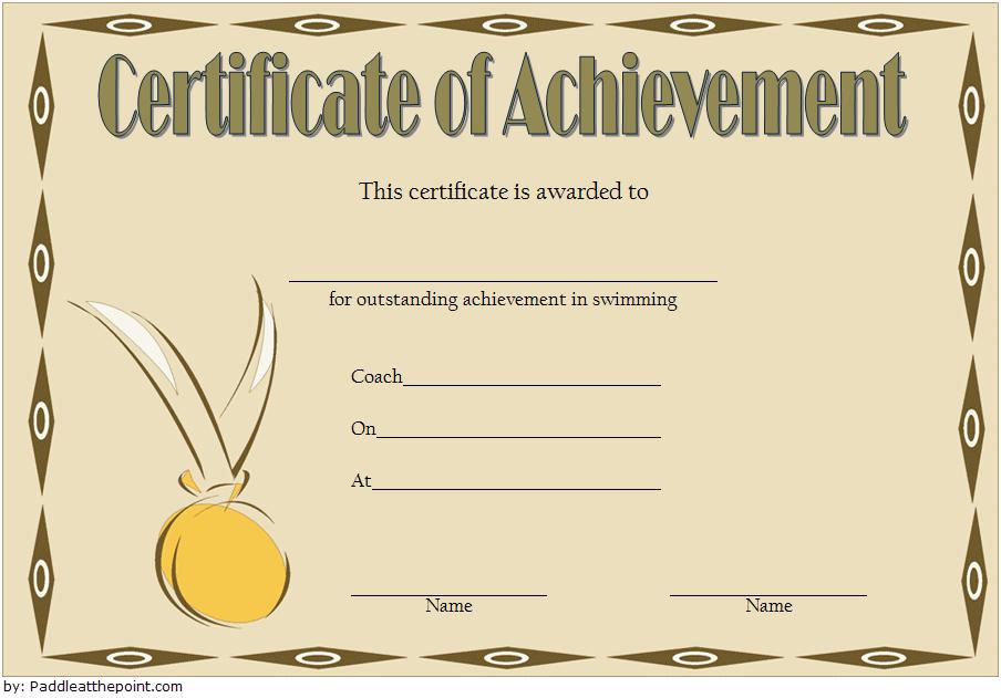 swimming achievement certificate free printable, swimming achievement certificate template, editable swimming certificate template, swimming achievement certificates to print, certificate of achievement swimming