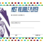 Volleyball Award Certificate Template Free 5