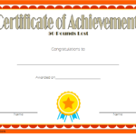 Weight Loss Certificate Template 2