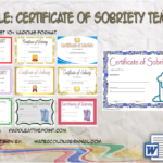 Certificate Of Sobriety Template By Paddle