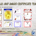 MVP Certificate Template By Paddle
