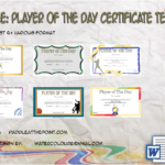 Player Of The Day Certificate Template By Paddle