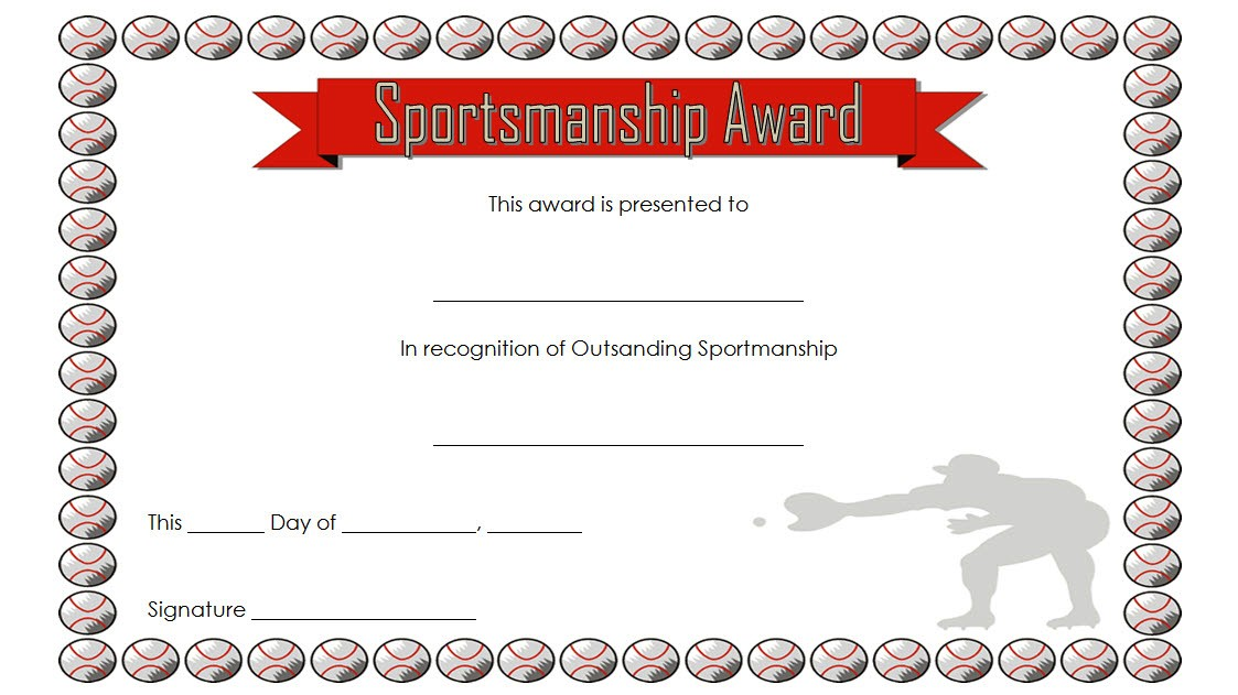 sportsmanship certificate template, sportsmanship certificates printable, certificate of sportsmanship, free sportsmanship award template, nfhs sportsmanship certificate, good sportsmanship award printable, sportsmanship awards for kids