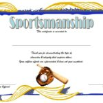 Sportsmanship Certificate Template – 10+ Great Ideas FREE