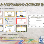 Sportsmanship Certificate Template By Paddle