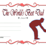 Best Dad Certificate Template 7