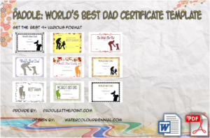 Best Dad Certificate Template: 9+ Greatest Design Ideas FREE