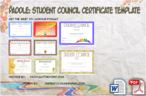 Student Council Certificate Template – 8+ Professional Ideas