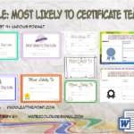 FREE Most Likely To Certificate Templates By Paddle