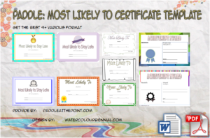 FREE Most Likely to Certificate Templates: 9+ New Choices