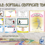 Free Printable Softball Certificate Templates