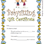 free printable babysitting gift certificate, babysitting gift certificate template, babysitting gift certificate printable free, babysitting voucher template printable, child care gift certificate template free, date night babysitting coupon template, grandparents babysitting gift certificate