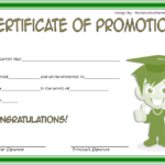 Certificate Of School Promotion Template 4 FREE