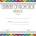 Certificate Of School Promotion Template 7 FREE