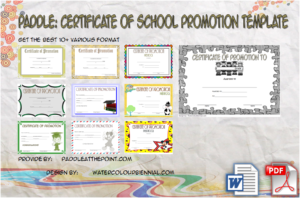 Certificate of School Promotion: 10+ Fresh Template Ideas