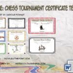 Chess Tournament Certificate Template FREE By Paddle