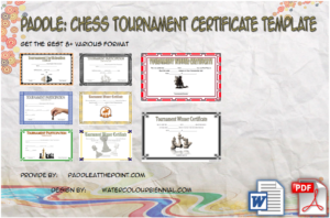 Chess Tournament Certificate Template FREE: 8+ Winner Ideas