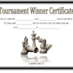 Chess Tournament Winner Certificate Template FREE 1