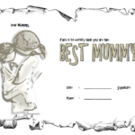 Worlds Best Mom Certificate Template FREE 4