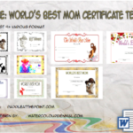 Worlds Best Mom Certificate Template FREE By Paddle