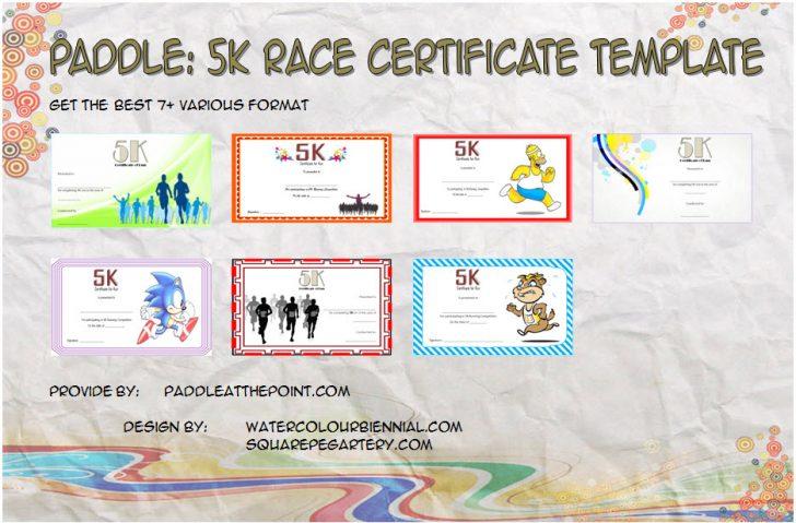 Permalink to 5k Race Certificate Template – 7+ Best Ideas